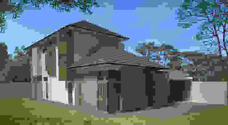 Cisaranten Residence Oleh Kahuripan Architect Modern Batu Bata