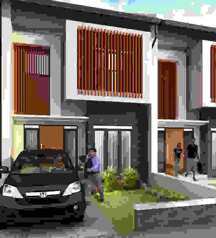 Bukit Duri Townhouse Oleh Kahuripan Architect Modern Kayu Buatan Transparent