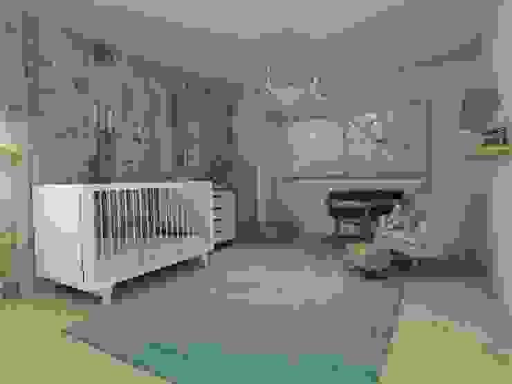 Diseño Interior Habitacion de bebe y cuarto de juegos de MM Design Escandinavo