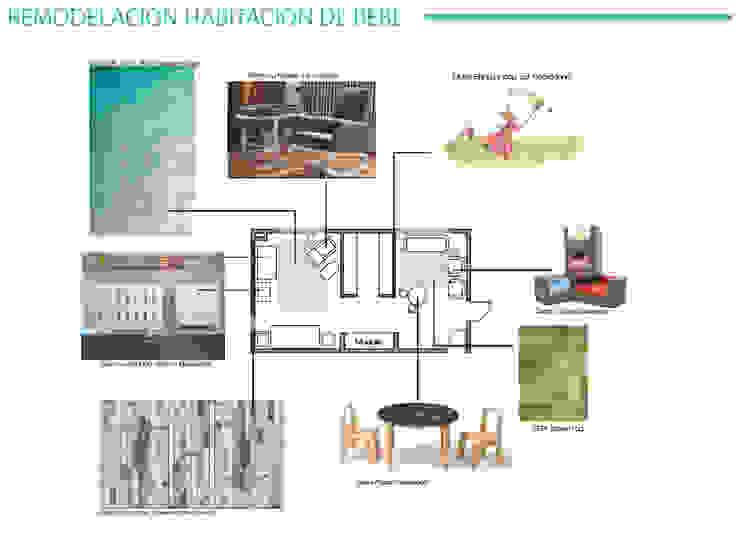 Diseño Interior Habitacion de bebe y cuarto de juegos de MM Design Clásico