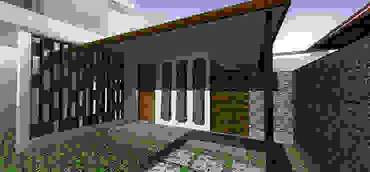 Babakan Sari House Oleh Kahuripan Architect Tropis Kayu Wood effect