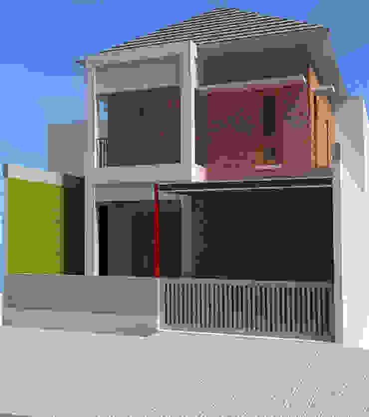 Cimahi Lestari House Oleh Kahuripan Architect Modern Batu Bata