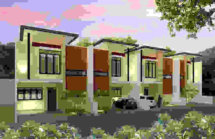 Margahayu Townhouse Oleh Kahuripan Architect Modern Batu Bata