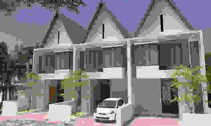 Sukarajin Townhouse Oleh Kahuripan Architect Modern Batu Bata