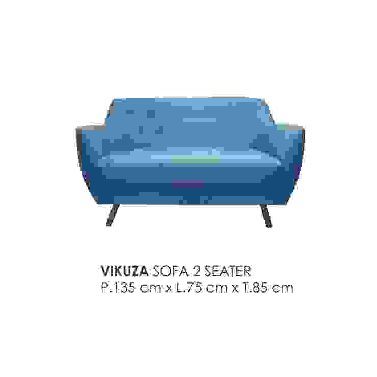 VIKUZA SOFA 2 SEATER Oleh VIKU FURNITURE & INTERIOR DESIGN Skandinavia