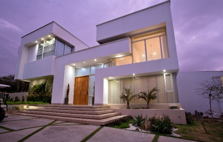 Casa MG Casas modernas de Cabas/Garzon Arquitectos Moderno