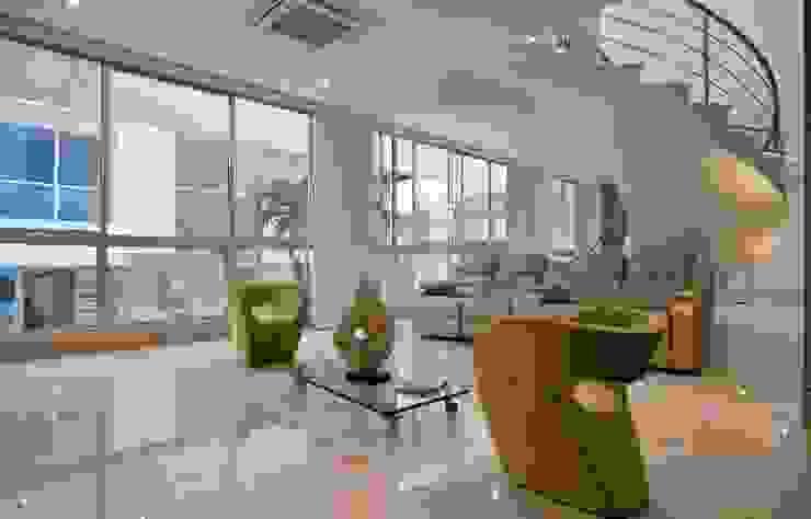 Casa MG Salas modernas de Cabas/Garzon Arquitectos Moderno