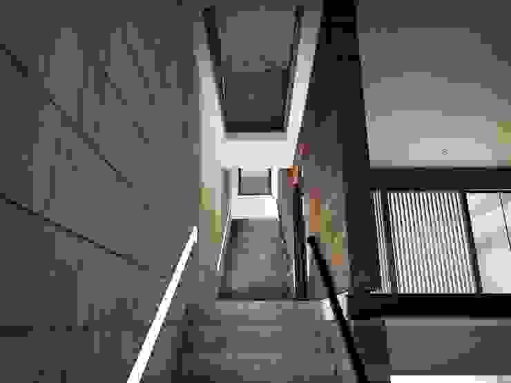 Conjunto Bifamiliar Playa Caballeros Pasillos, vestíbulos y escaleras modernos de Artem arquitectura Moderno