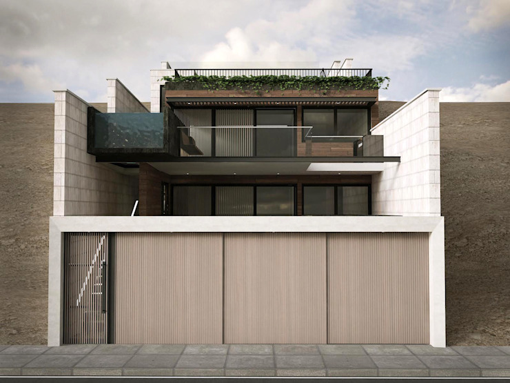 Conjunto Bifamiliar Playa Caballeros de Artem arquitectura Moderno