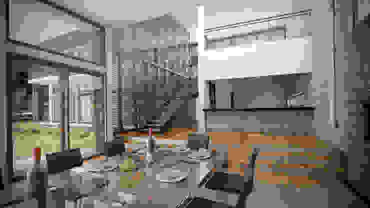 Casa ''La Pendiente'' Comedores de estilo moderno de Artem arquitectura Moderno