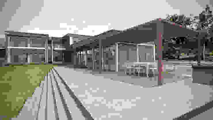 Casa ''La Pendiente'' Casas modernas: Ideas, diseños y decoración de Artem arquitectura Moderno