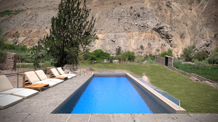 Modern Pool by Artem arquitectura Modern