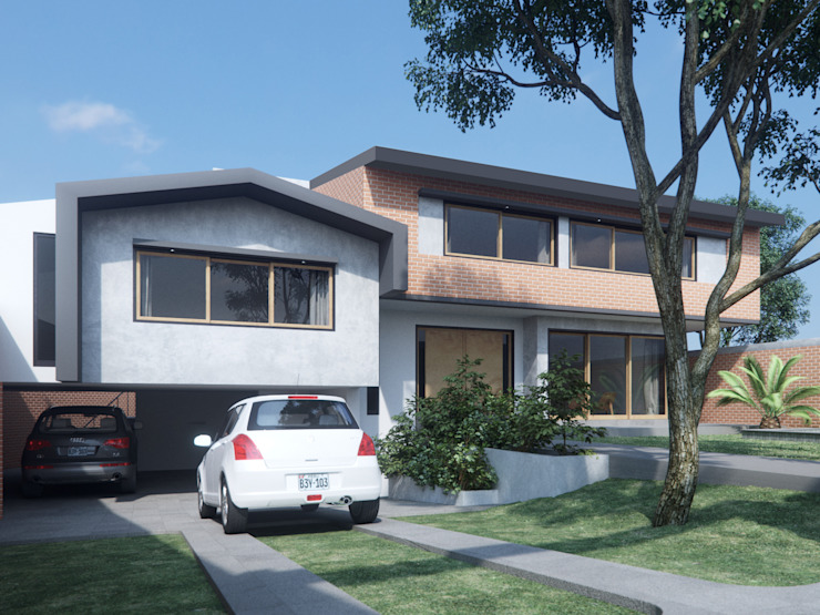 Casas estilo moderno: ideas, arquitectura e imágenes de Artem arquitectura Moderno