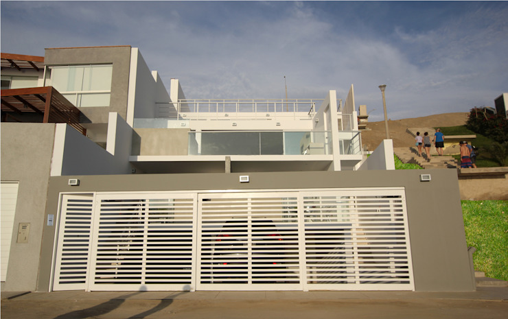 Elevación frontal Casas modernas: Ideas, diseños y decoración de Artem arquitectura Moderno