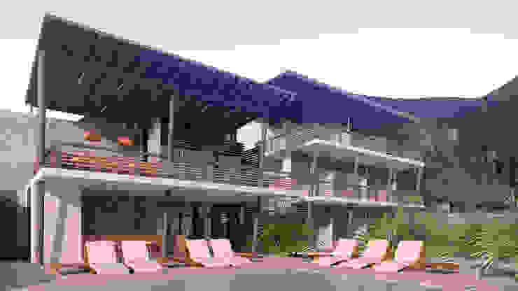 Casa Hospedaje Tumbes de Artem arquitectura Rústico