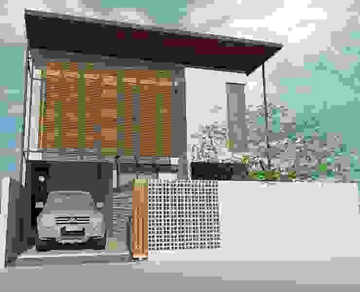 Sarimanah House Oleh Kahuripan Architect Modern Kayu Buatan Transparent