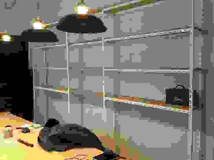 LONGO OFFICE 모던스타일 서재 / 사무실 by atelier longo 아뜰리에 롱고 모던