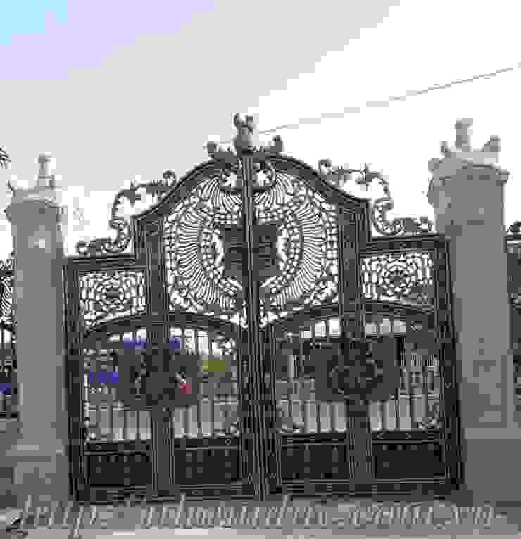 Cổng nhôm đúc phù điêu Buckingham bởi Công ty cổ phần nhôm đúc Fuco