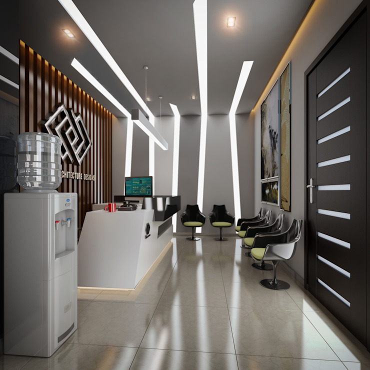 CEO Office Design by TK Designs Modern Wood Wood effect