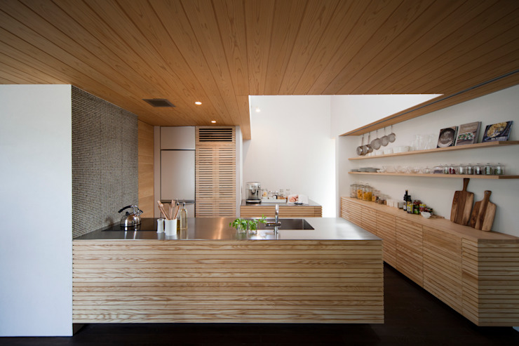 こだわりのkisetsuオリジナルキッチン。 kisetsu 和風の キッチン