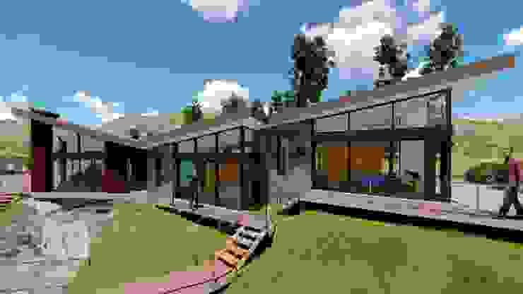 Casa Montes de ProyecTTo Moderno Ladrillos