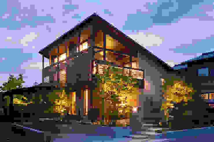 Nhà phong cách Bắc Âu bởi HAN環境・建築設計事務所 Bắc Âu