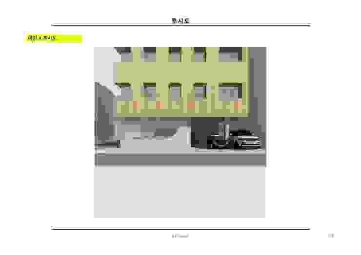 SSD 656 성수동 상가주택 건축 설계 by atelier longo 아뜰리에 롱고 모던
