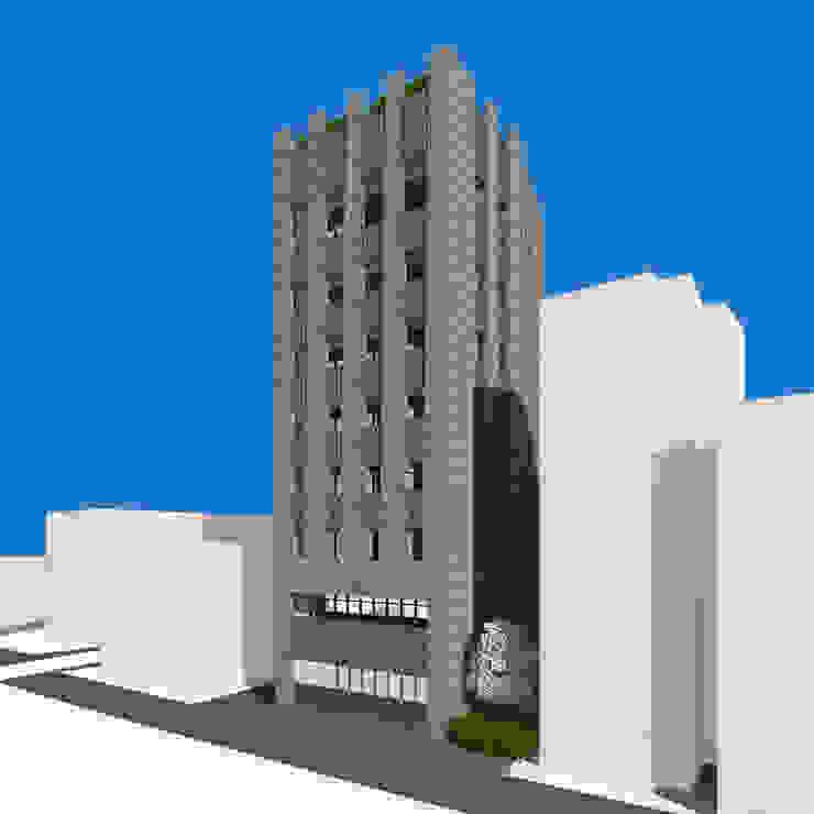 SSD 1835 성수동 근린생활시설 건축 설계 모던스타일 주택 by atelier longo 아뜰리에 롱고 모던
