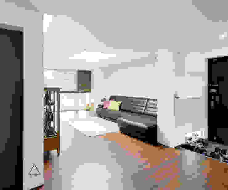 목동 진도 2차 아파트 인테리어 모던스타일 거실 by atelier longo 아뜰리에 롱고 모던