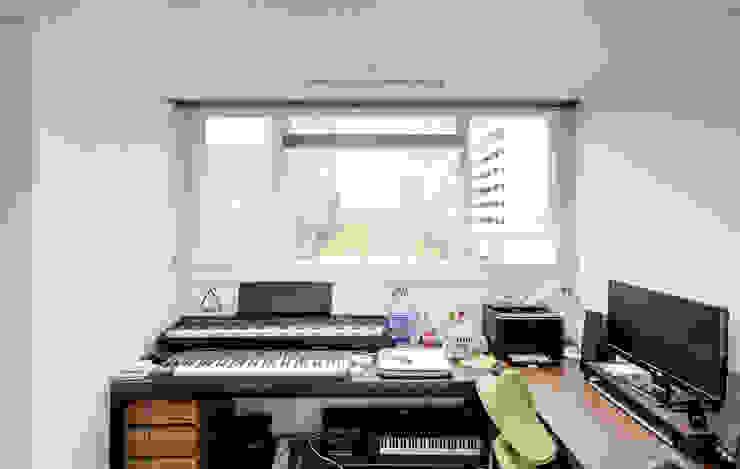 목동 진도 2차 아파트 인테리어 모던스타일 미디어 룸 by atelier longo 아뜰리에 롱고 모던