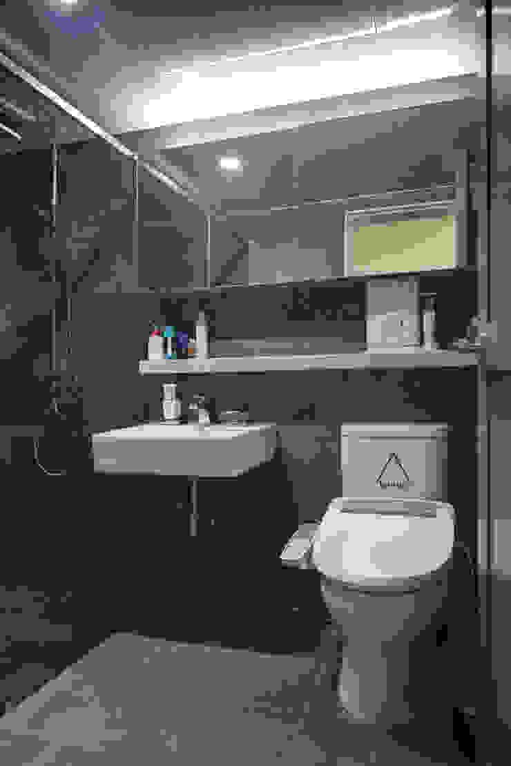 목동 진도 2차 아파트 인테리어 모던스타일 욕실 by atelier longo 아뜰리에 롱고 모던