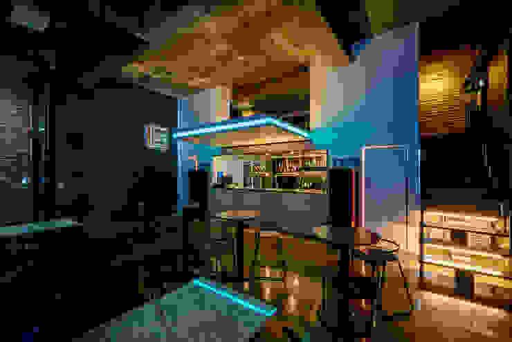 더스테이지 라운지 by 쿠나도시건축연구소