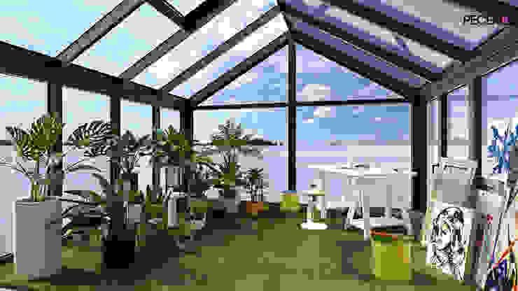 Terrace by La Pecera Estudio Creativo