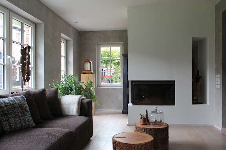 Alex Janmaat Interieurs & Kunst Living roomFireplaces & accessories