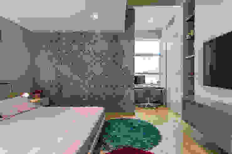 Habitación de las niñas - Nivel inferior de Design Group Latinamerica Rústico Papel