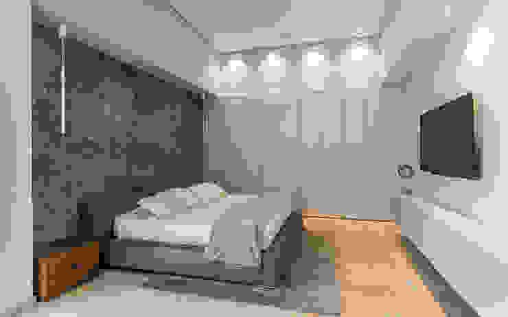 Dormitorio principal - Acabados de Design Group Latinamerica Minimalista Madera Acabado en madera