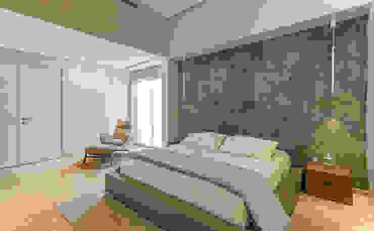 Dormitorio principal - Mobiliario Cuartos de estilo minimalista de Design Group Latinamerica Minimalista