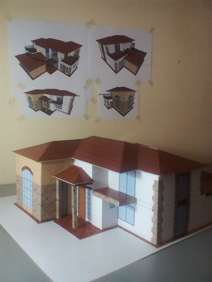 Maquetas Papercraft de Arquitecto Mauricio García