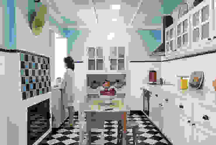 Cozinha por Estúdio AMATAM Campestre