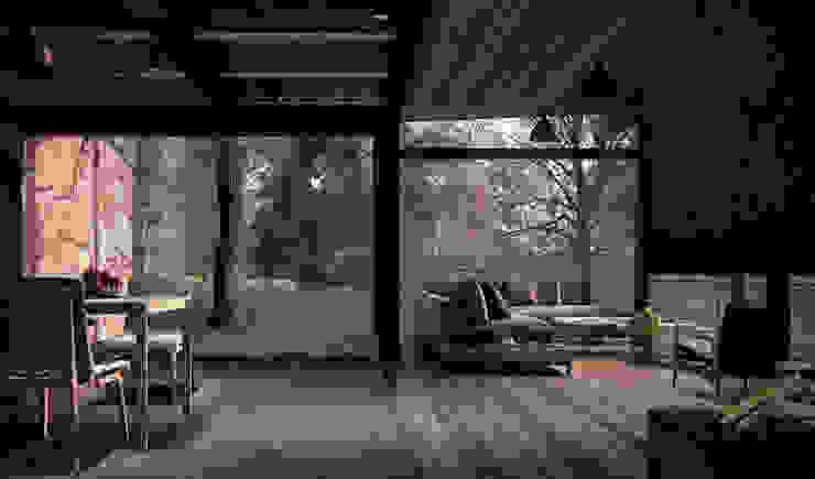 غرفة المعيشة تنفيذ JCh Arquitectura