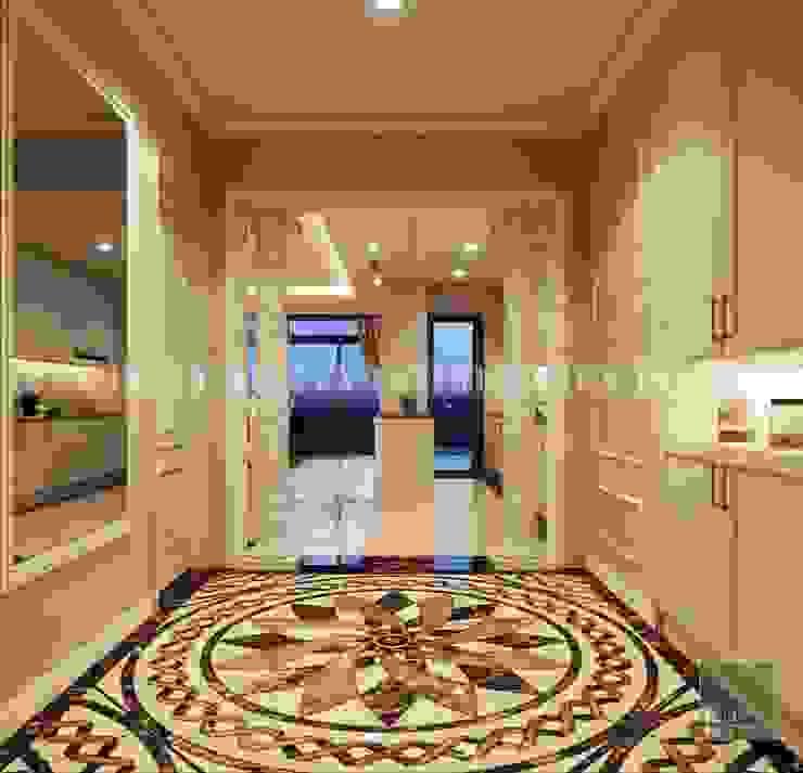 Phong cách Cổ điển trong thiết kế nội thất căn hộ Vinhomes Central Park bởi ICON INTERIOR Kinh điển