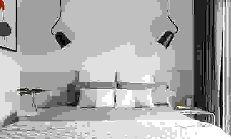 Reforma habitación doble vivienda Dormitorios de estilo minimalista de Marina Sezam Minimalista Madera Acabado en madera