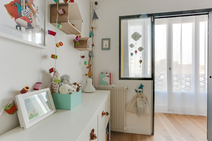 Anne Lapointe Chila Habitaciones de bebé