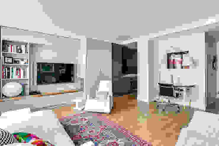 Anne Lapointe Chila Salones de estilo moderno