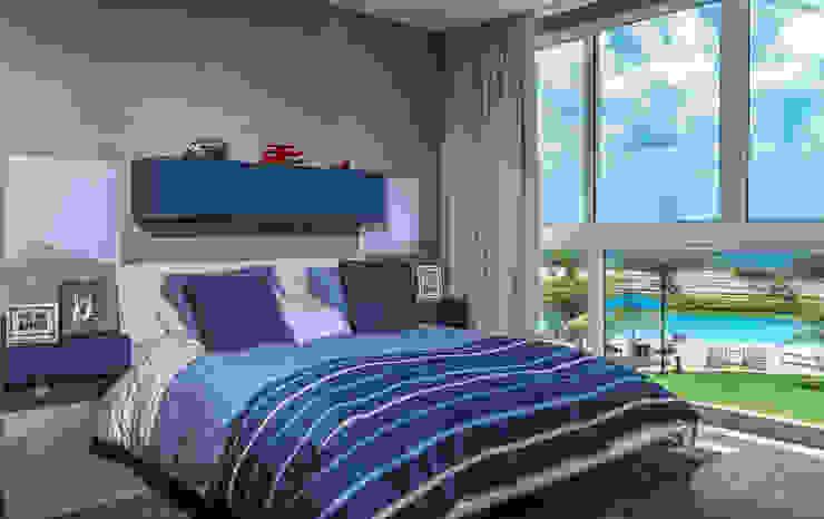 Bedroom Modern Kid's Room by Design Group Latinamerica Modern
