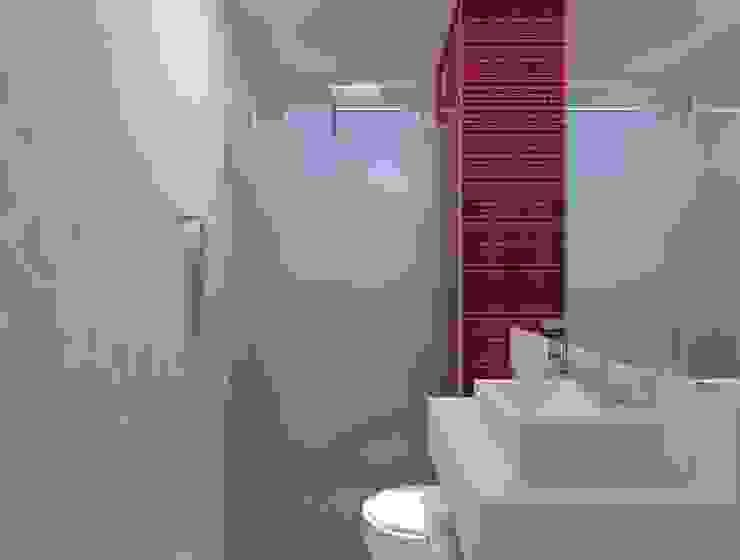 Thainá Ramos Modern bathroom