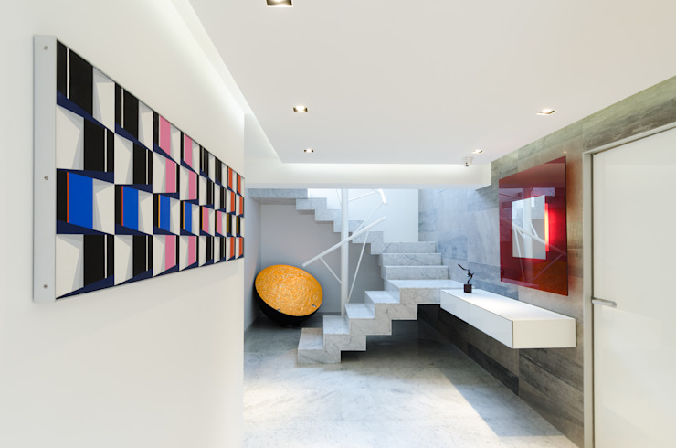 Design Group Latinamerica Vestíbulos, pasillos y escalerasEscaleras