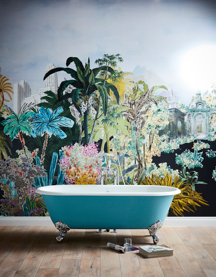 Buckingham cast iron bath Classic style bathroom by Heritage Bathrooms Classic