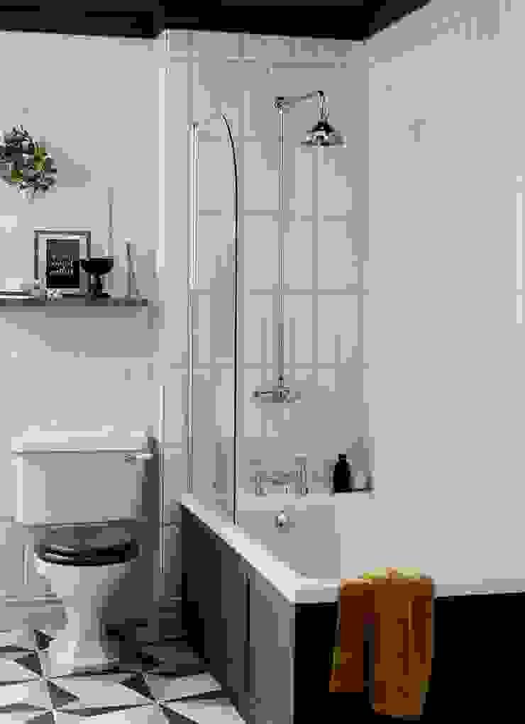 Granley WC and fitted bath Baños de estilo clásico de Heritage Bathrooms Clásico
