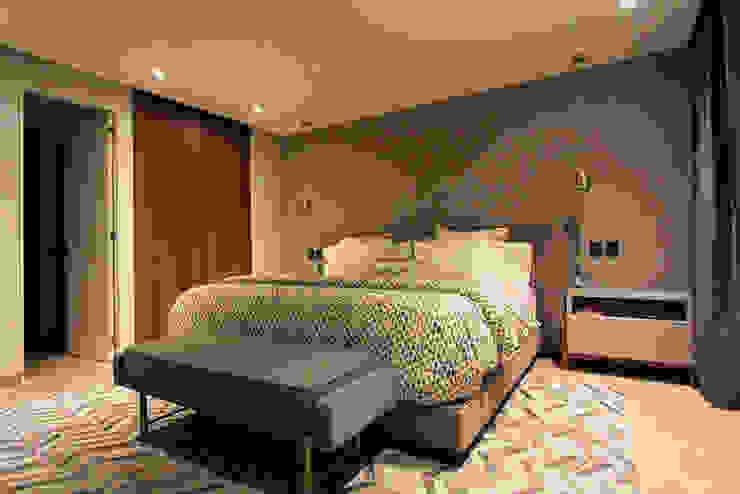Departamento Acueducto - ARCO Arquitectura Contemporánea Dormitorios de estilo moderno de ARCO Arquitectura Contemporánea Moderno